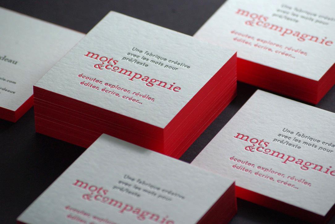 carte-de-visite-tranche-letterpress-rouge-debossage-joelle-rouge-recto