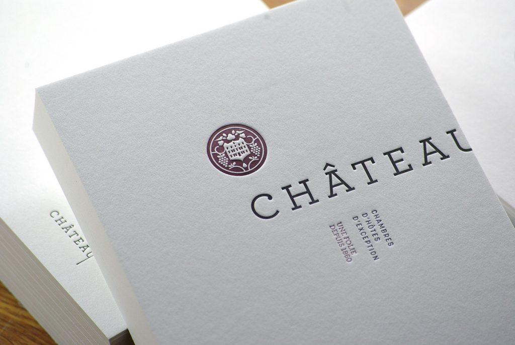 Carte de correspondance - Chateau Autignac
