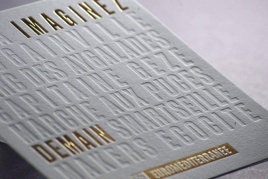 Carte de voeux - Euroméditerranée