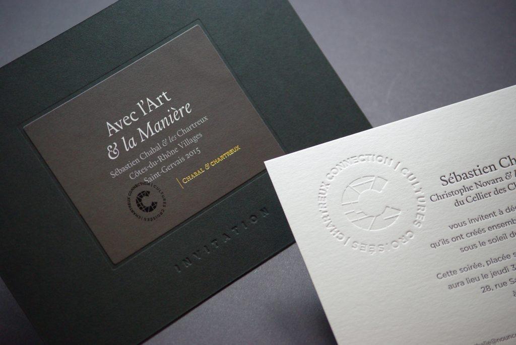 Invitation - Sebastien Chabal & Cave des Chartreux