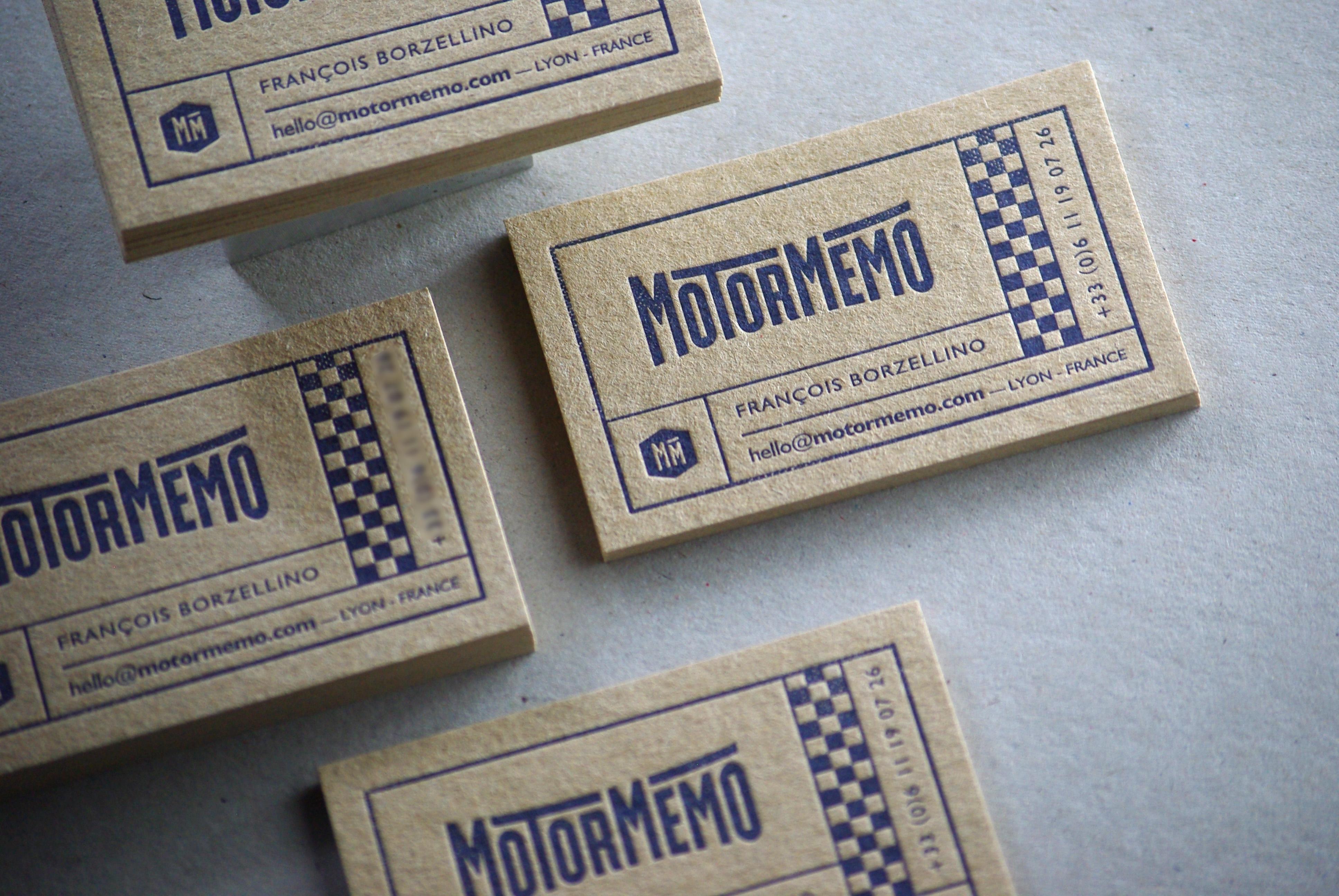 Carte de visite - Motormemo