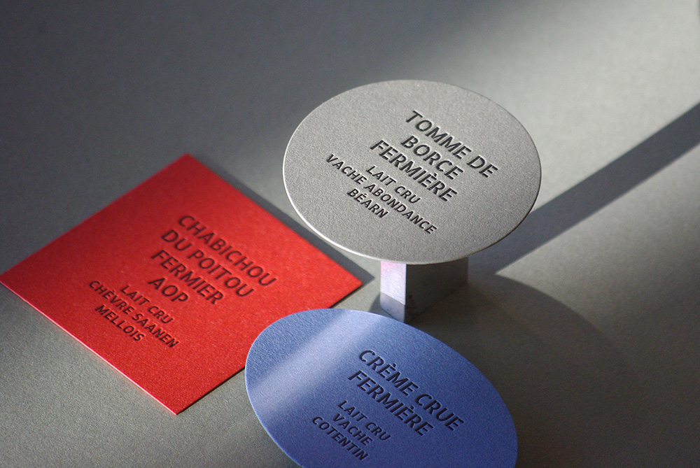 Etiquettes MOF - Fromagerie Escudier