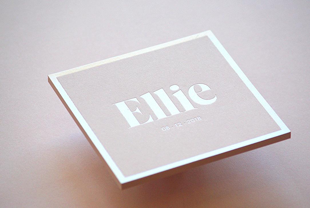 Faire-part de naissance - Ellie